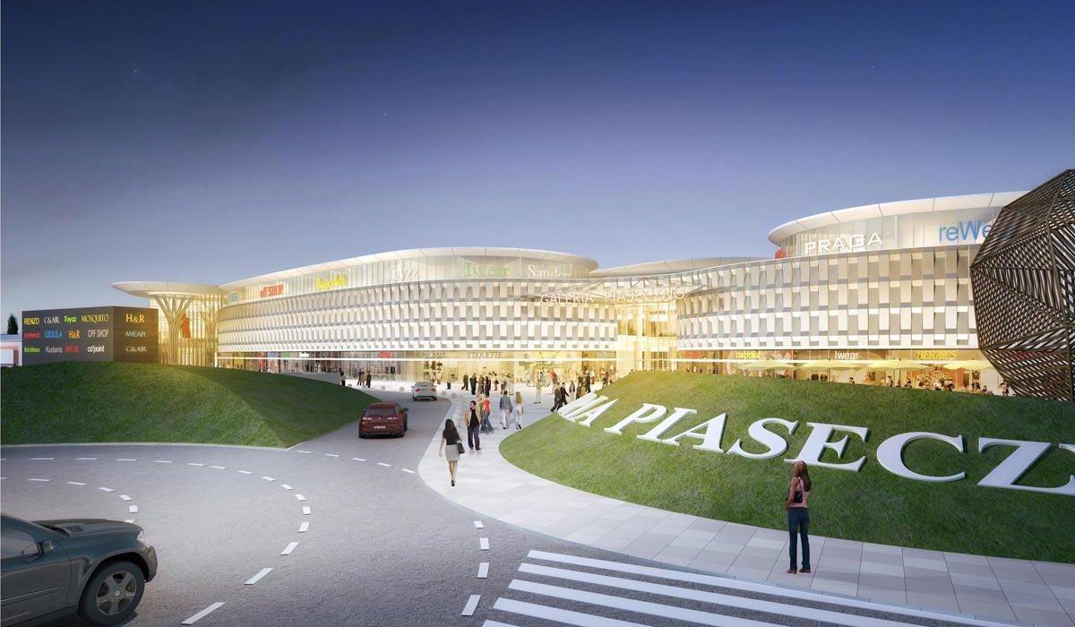Galeria Piaseczno Extension Bose Architects
