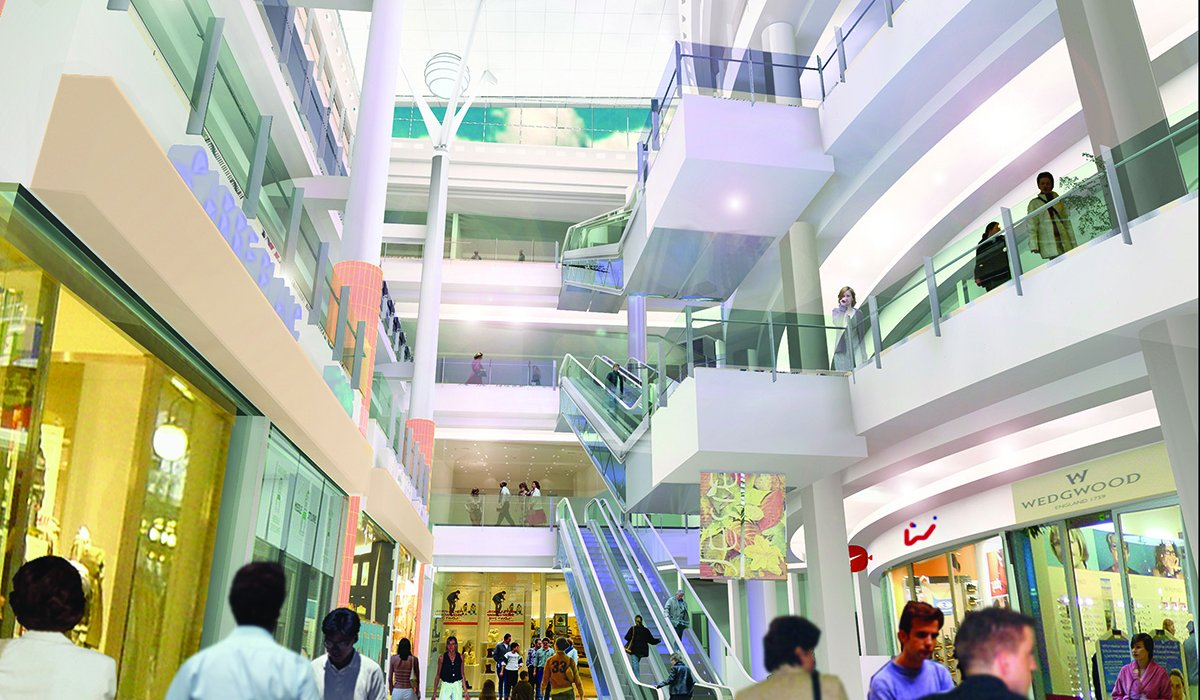 agora mall bose architects